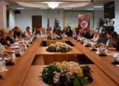 Отстоим социальные гарантии и права женщин России! В Госдуме прошел круглый стол «Социальные гарантии женщинам и «пенсионная реформа»