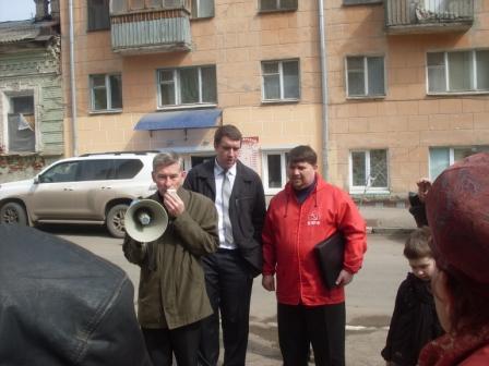 КПРФ защищает зелёные лёгкие Саратова