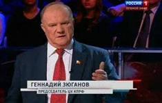 Г.А.Зюганов на «России-1»: Нелегитимная власть в Киеве, оппоненты преследуются, казнятся, расстреливаются… Поэтому решение Крыма о проведении референдума абсолютно легитимно
