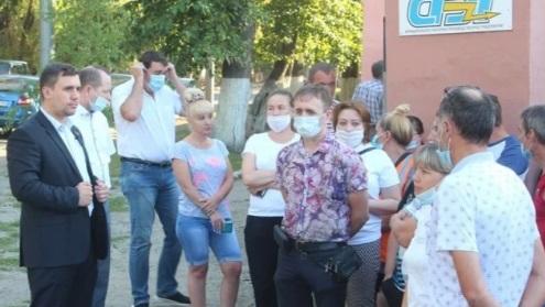 В Саратове работники Кировского троллейбусного депо объявили вторую забастовку
