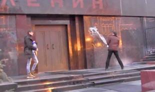 Дмитрий Аграновский: Шарлибесие. Осквернители у Мавзолея