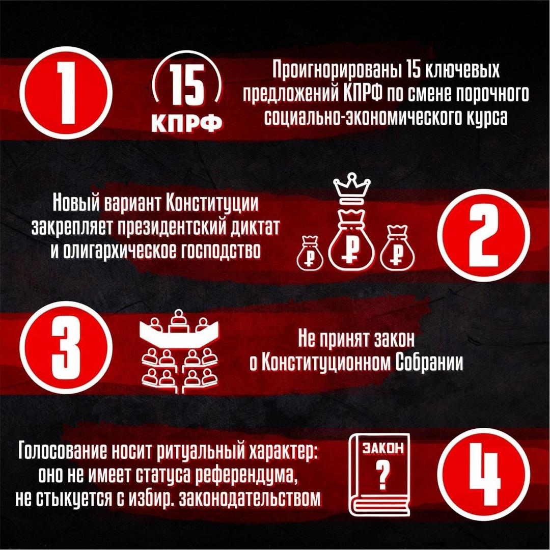 8 причин голосовать ПРОТИВ поправок к Конституции РФ
