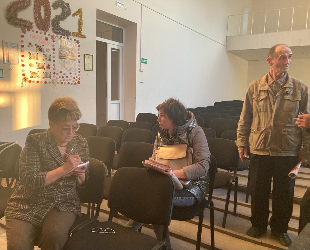 Ольга Алимова встретилась с жителями Озинок