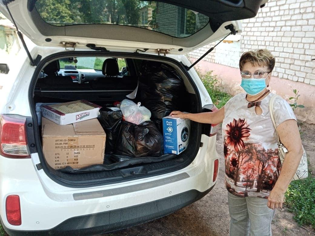Ольга Алимова посетила многодетную семью