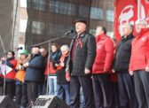 Г.А. Зюганов на митинге в Москве: Дадим отпор либеральной своре!