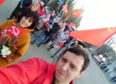7 ноября в Балакове состоялись праздничная демонстрация и митинг КПРФ