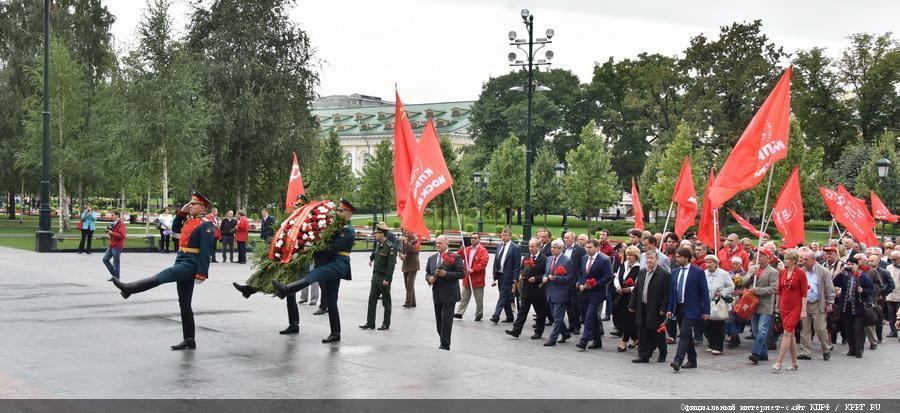 Г.А. Зюганов: «Мы преклоняемся перед мужеством павших героев»