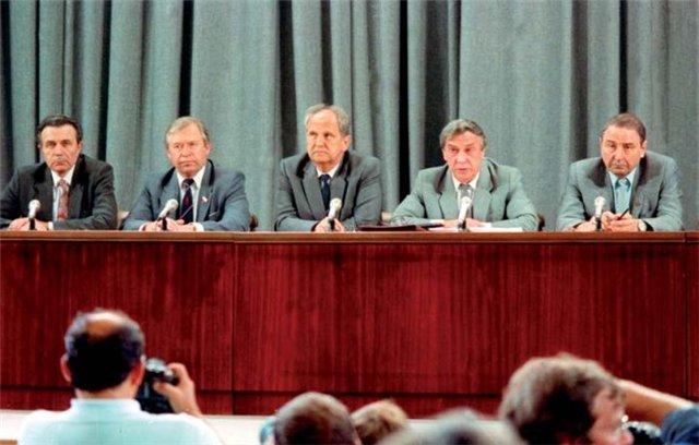 23 года назад был образован ГКЧП СССР. Историческое видео