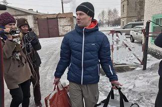 Ильдар Дадин — на свободе