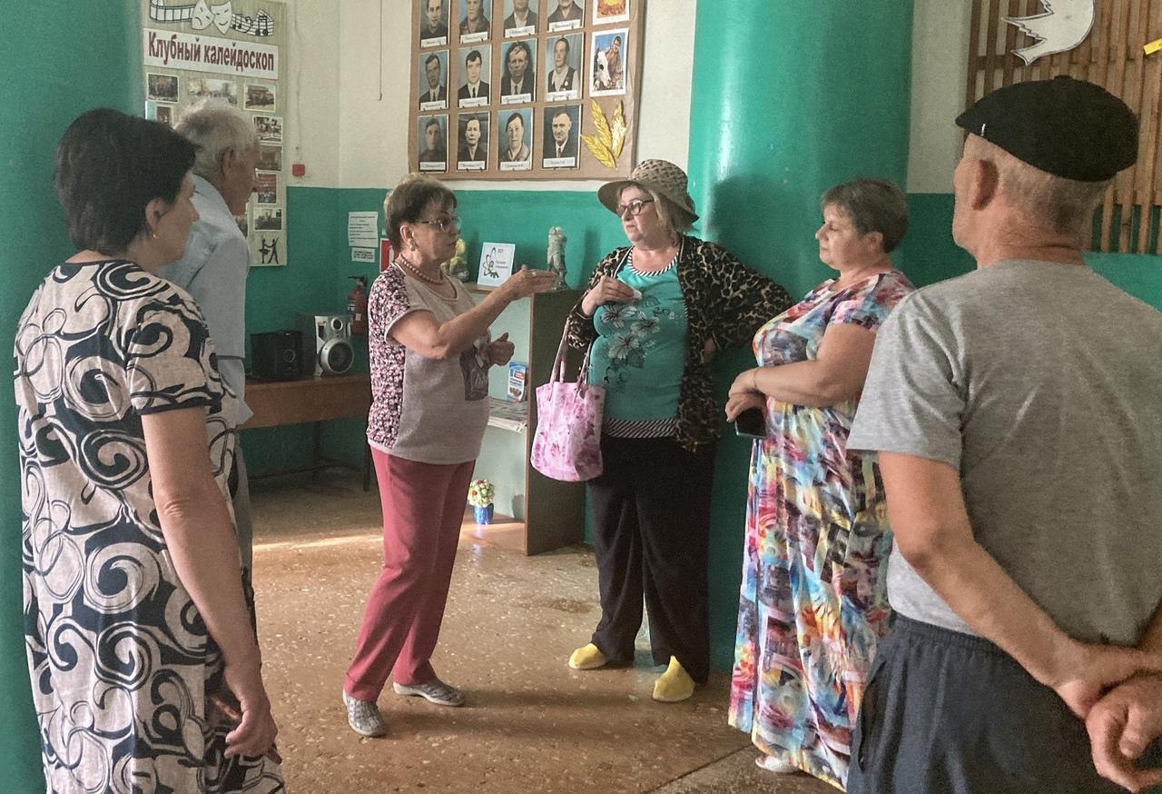 Ольга Алимовас рабочей поездкой побывала в Фёдоровском районе