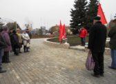 100-летие Великой Октябрьской социалистической революции в г. Аткарске.