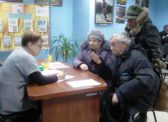 Ольга Алимова посетила несколько районов Левобережья