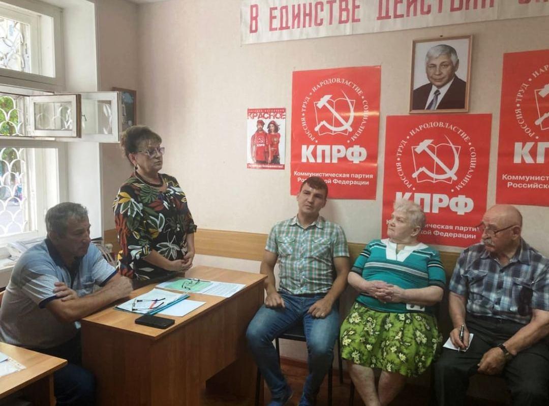 Ольга Алимова посетила Балашовский район