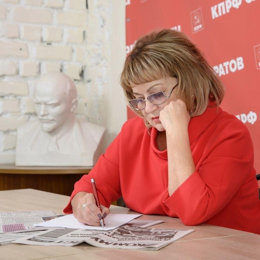 Ольга Алимова: «КПРФ не даёт власти покоя»