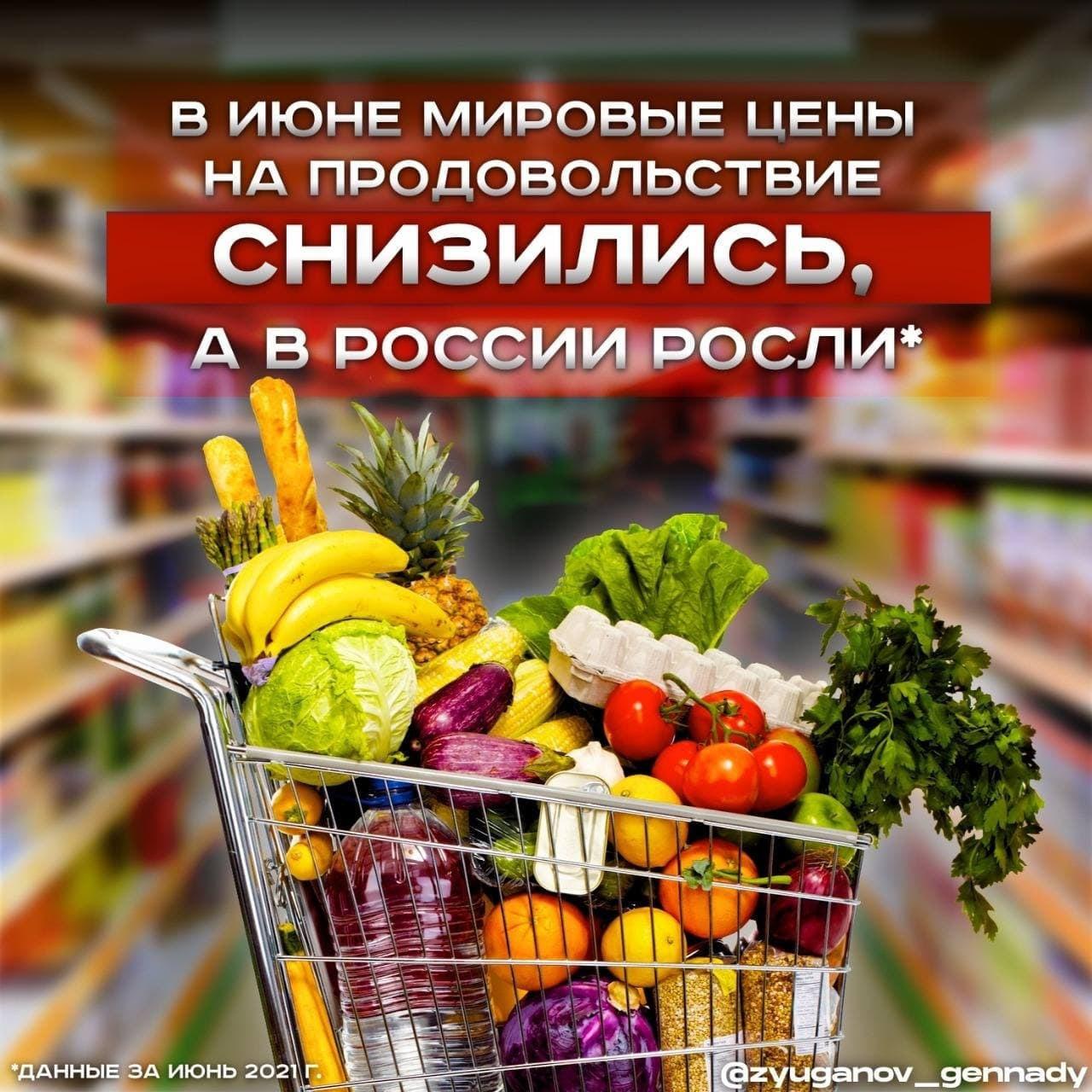 Цены в России ползут в верх