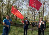 В посёлке Пригородный Петровского района прошёл праздничный митинг