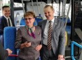 Ольга Алимова ратует за развитие городского экологичного транспорта