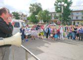 Балаково. Сход граждан против строительства завода по утилизации отходов I и II классов опасности на территории Саратовской области