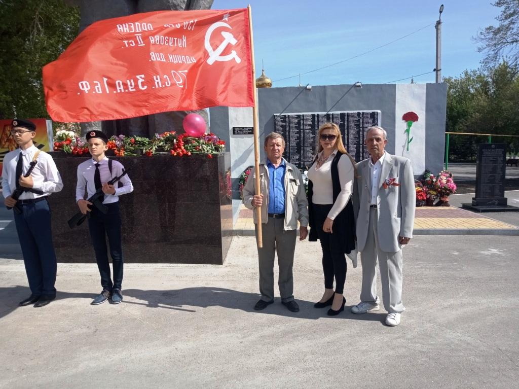 9 мая коммунисты Ивантеевского РК КПРФ отметили День Победы