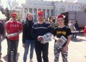 Комсомольский флэшмоб – «Красная карусель».