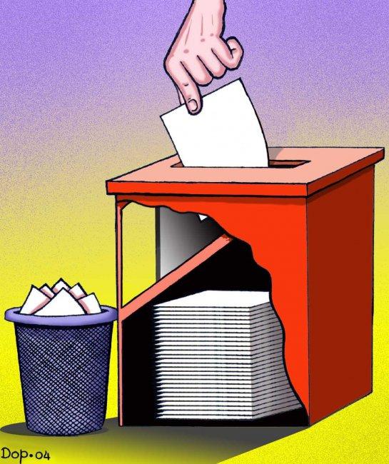 Избирательный «беспредел» в Саратовской области