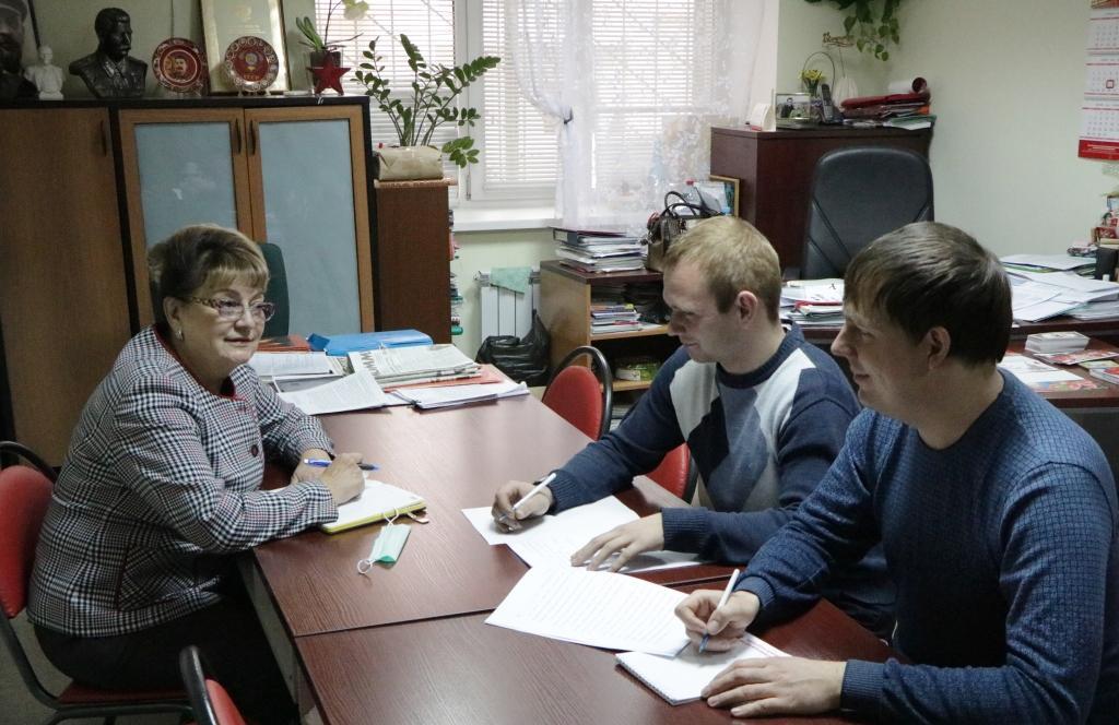 Ольга Алимова встретилась с комсомольским активом