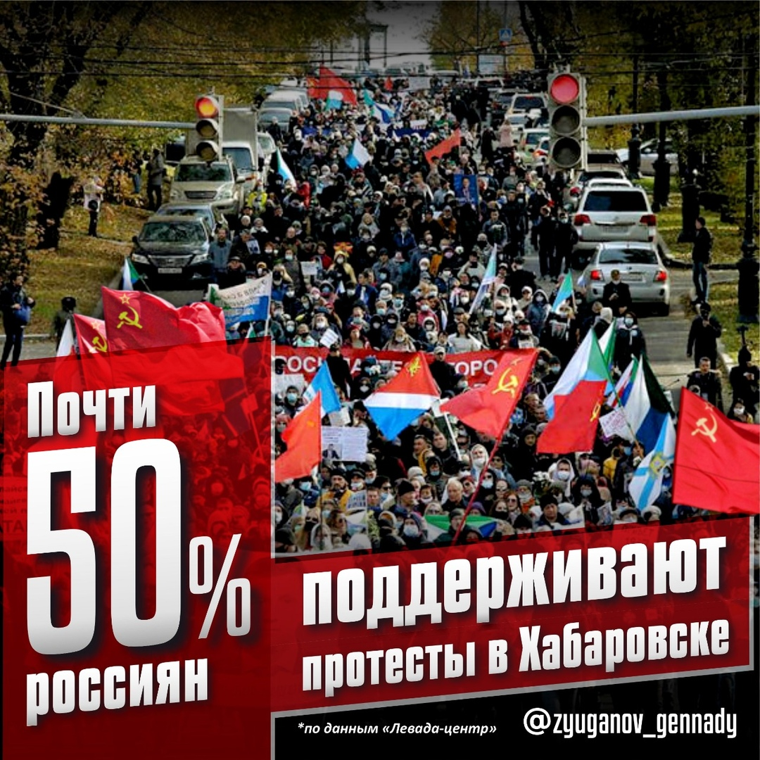 Геннадий Зюганов: «В Хабаровске продолжается народный протест»