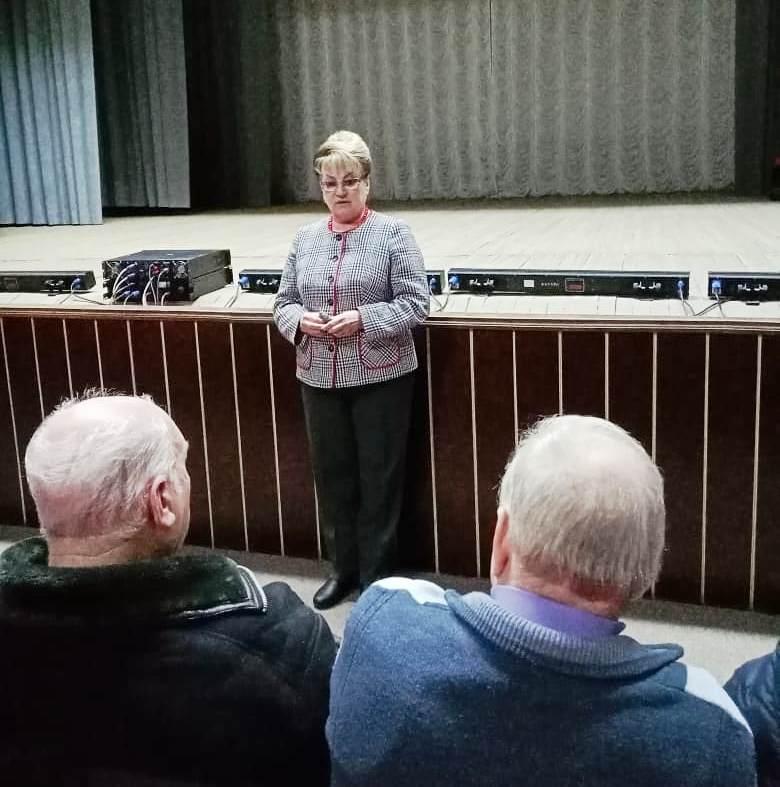 Ольга Алимова посетила Лысогорский район