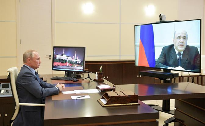 План спасения Кремля: Когда рухнет экономика, Путин прикроется отставкой Мишустина
