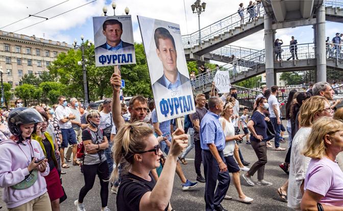 Геннадий Зюганов: Хабаровск протестует против беспардонной политики Кремля