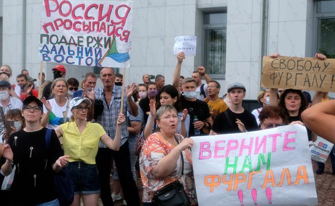 Мятежный Хабаровск расколол элиты Кремля: Преемники №1 и №2 вызвались остановить протест