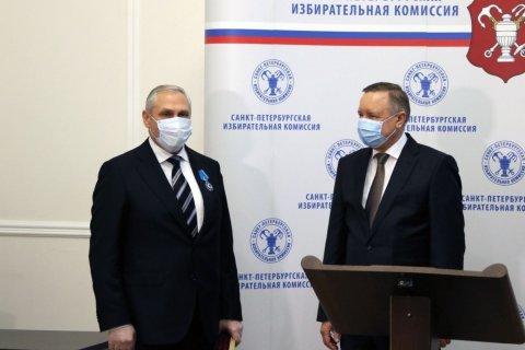 Путин наградил Орденом Почета главу петербургского избиркома, которого обвиняли в массовых нарушениях на выборах