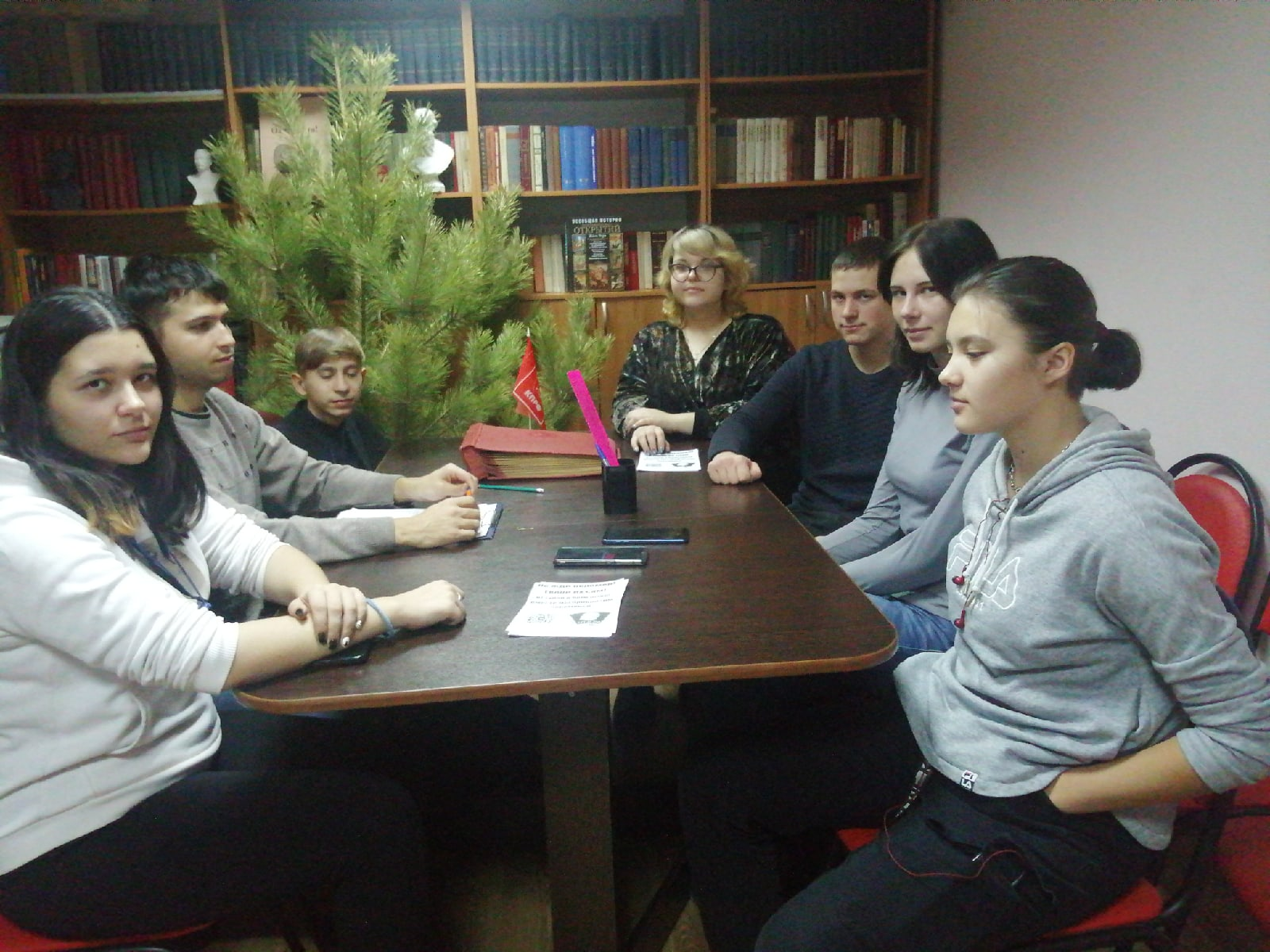 Энгельсские комсомольцы провели круглый стол, посвящённый восстанию декабристов