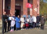 Новоузенск. Митинг КПРФ, посвященный 147 – й годовщины со дня рождения В.И.Ленина