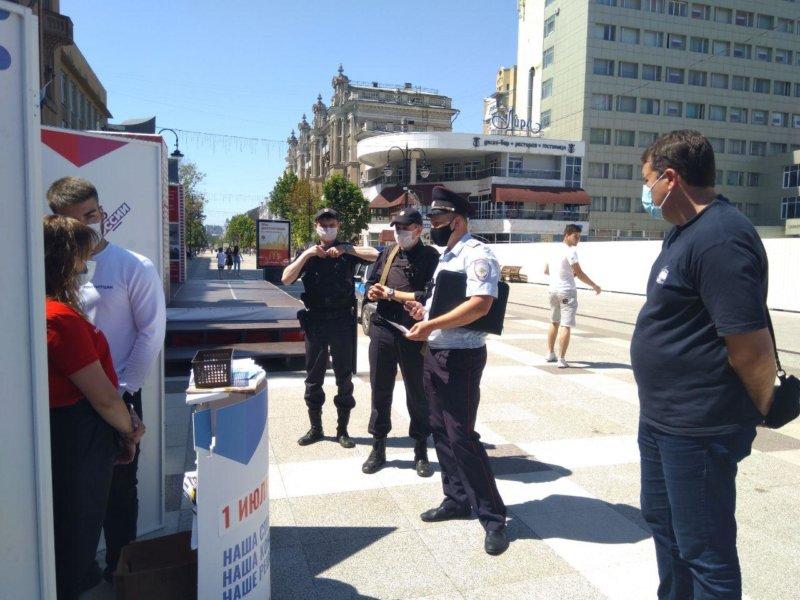 Депутат-коммунист пресёк незаконный пикет