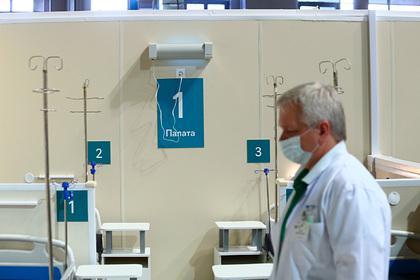 В России осталось десять процентов коек для пациентов с коронавирусом