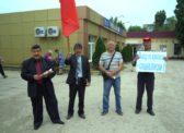 В Новоузенске был проведен пикет КПРФ: «Выход из кризиса – социализм!»