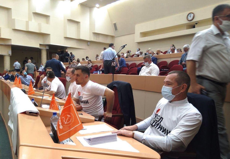 Фракция КПРФ в Саратовской областной думе: Мы заявляем категорический протест против трусливого и подлого преследования Павла Грудинина!