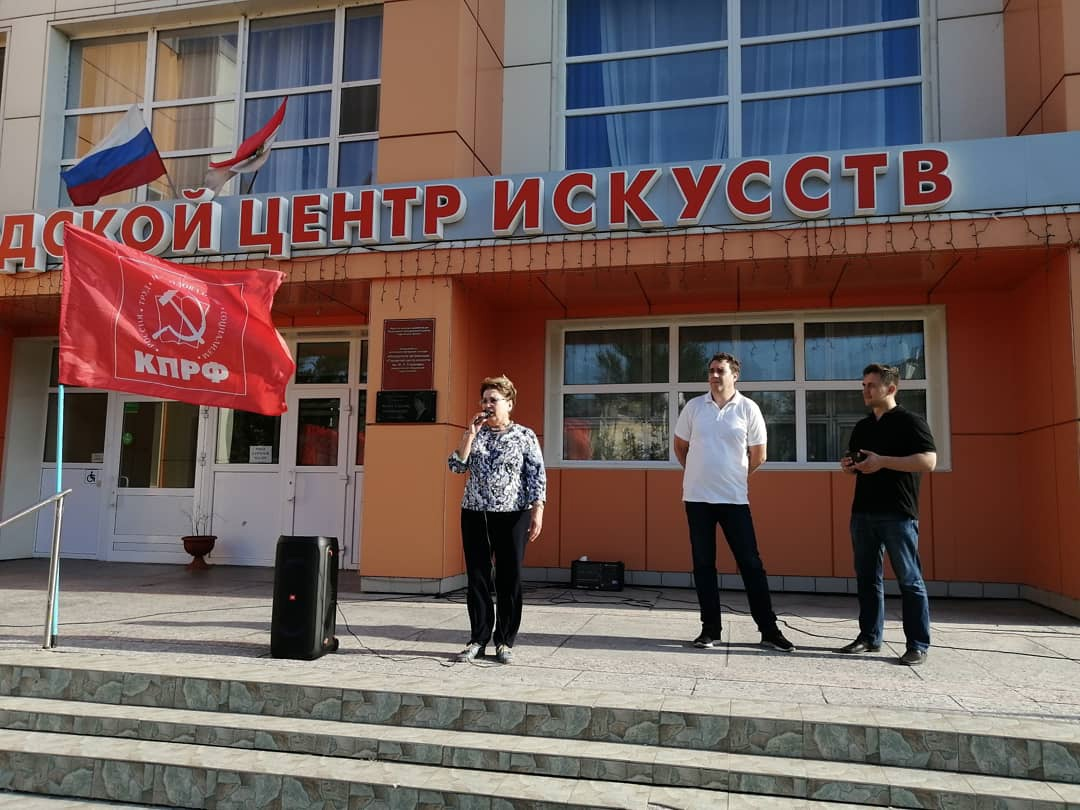 Ольга Алимова встретилась с жителями Балаково