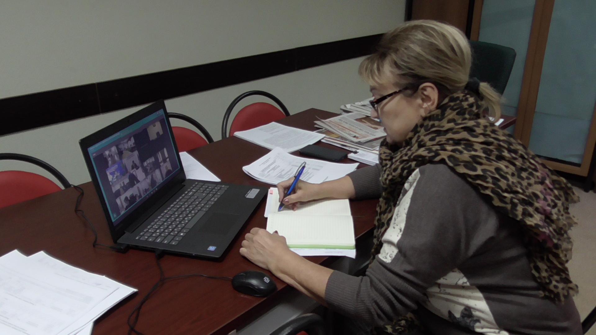 Ольга Алимова приняла участие в селекторном совещании по социально значимым жилищным вопросам
