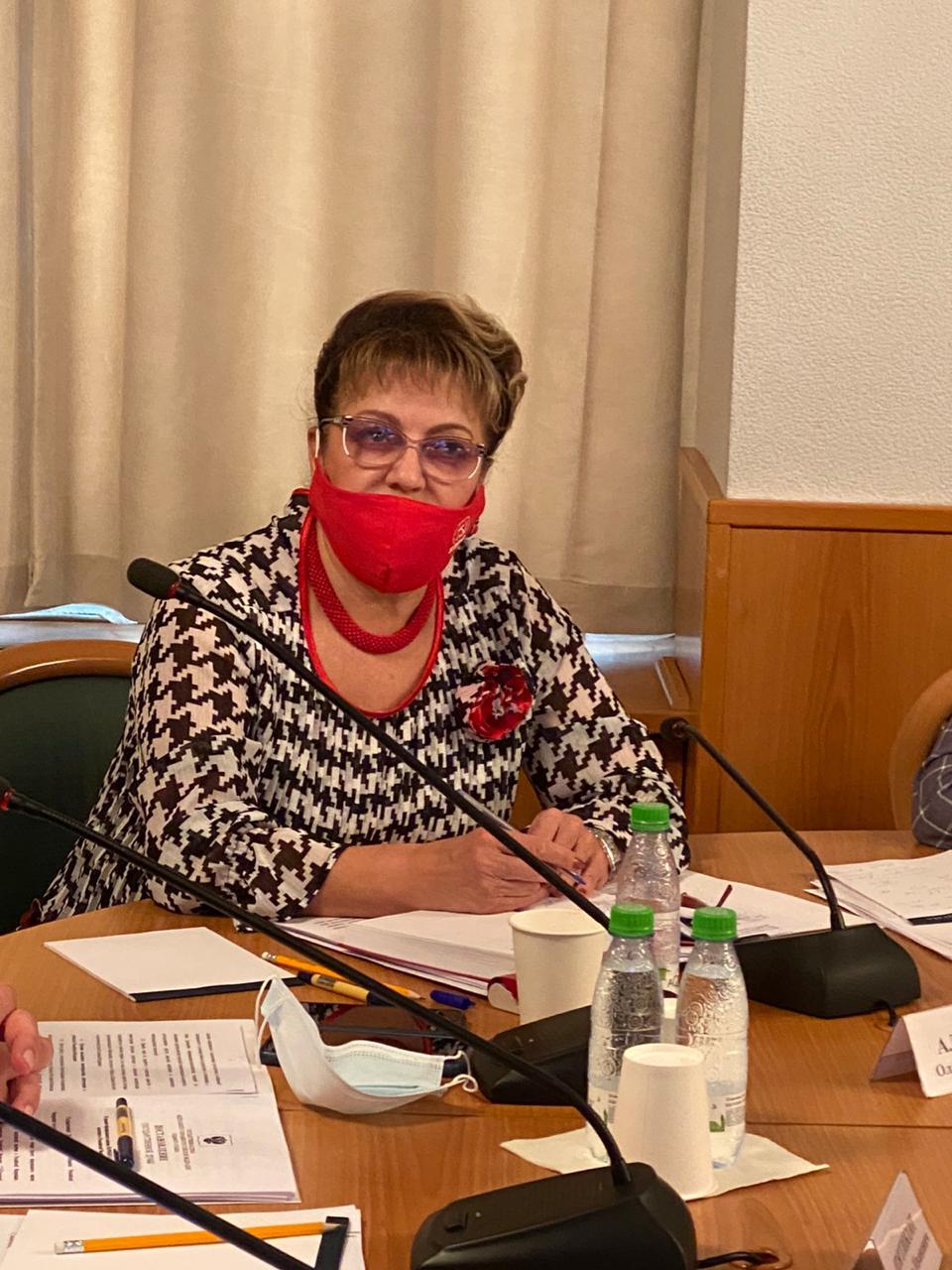 Ольга Алимова о совершенствовании правового регулирования государственной молодежной политики