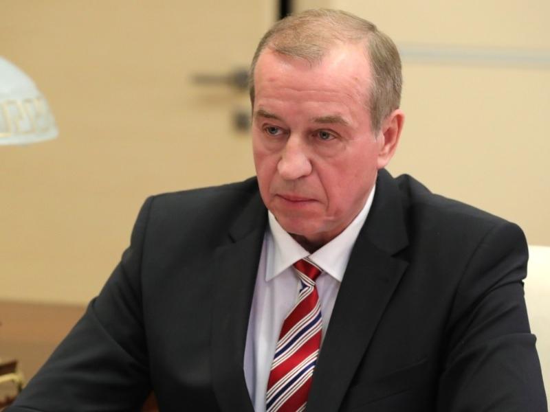 Заявление Сергея Левченко о досрочных выборах губернатора Иркутской области