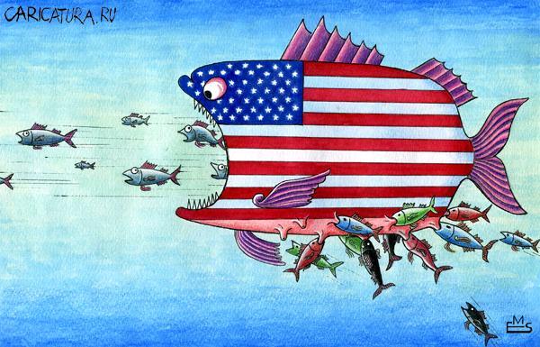 Под видом бархатных революций США экспортируют контрафакт демократии. Новые политические анекдоты от Ивана Никитчука