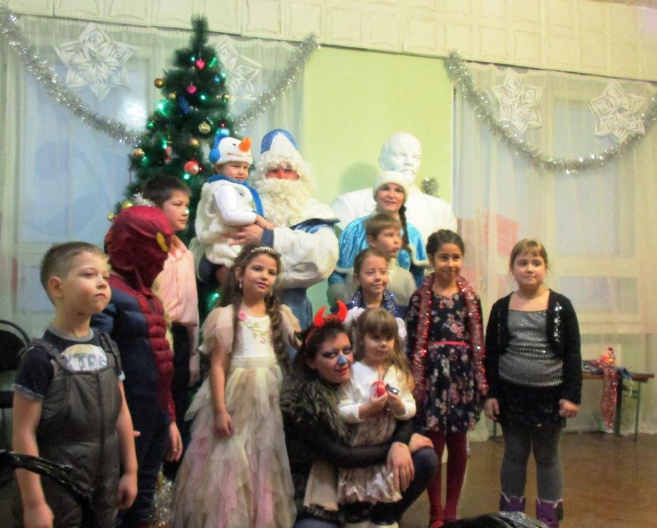ЗАТО Светлый. Ольга Алимова подарила детям новогодний праздник