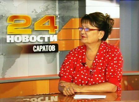 Ольга Алимова в июньском выпуске телепрограммы «Мнение политика»