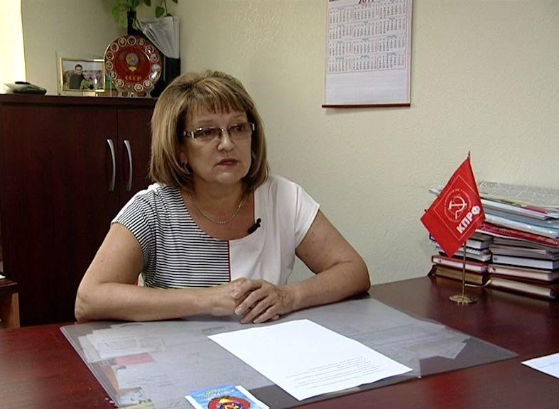 Ольга Алимова в телепередаче «Вести-Интервью»