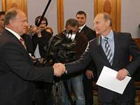 Владимир Путин признал, что его основной оппонент – Геннадий Зюганов