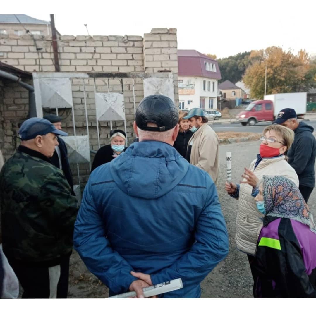 Ольга Алимова встретилась с саратовцами