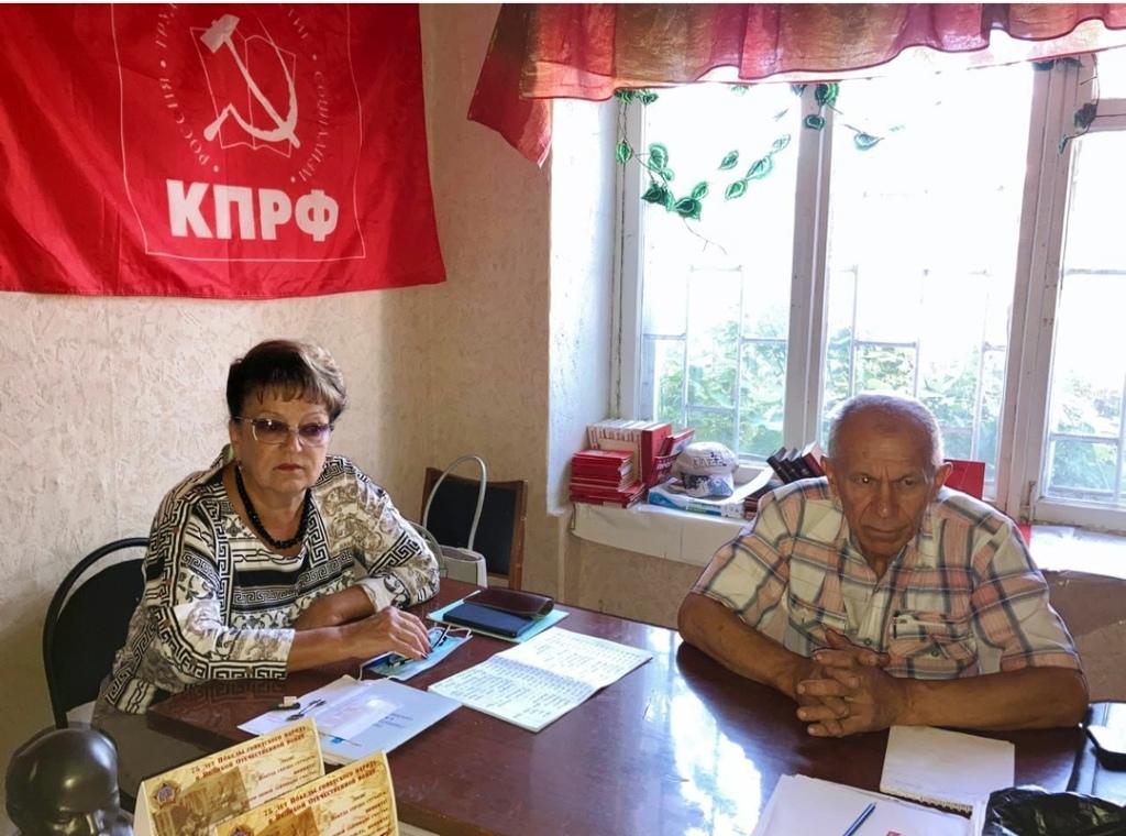 Ольга Алимова посетила Романовский район